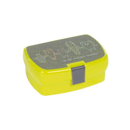 Lassig Lunchbox About Friends szary
