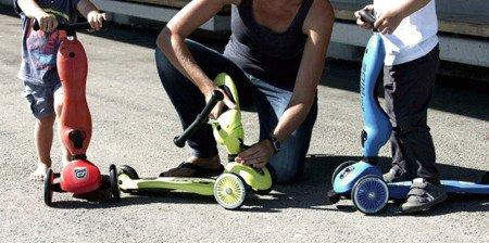 SCOOTANDRIDE Highwaykick1 2w1 Jeździk i hulajnoga 1-5 lat Blue
