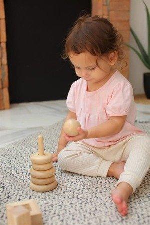 Bliżej natury - wieża do nakładania, Plan Toys