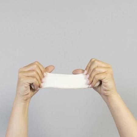 Crazy Aaron, Aura, świecąca w ciemności, Inteligentna plastelina, puszka 5 cm. 13 g.