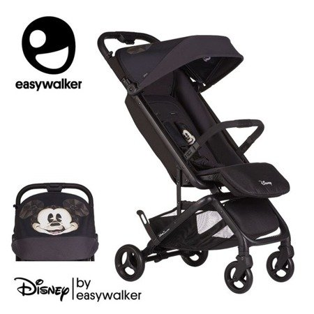 DISNEY by Easywalker Buggy GO Wózek spacerowy z osłonką przeciwdeszczową Mickey Diamond