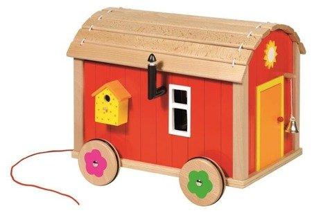 Domek dla lalek na kółkach