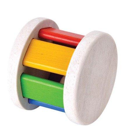 Drewniana grzechotka Roller, Plan Toys®