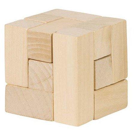 Drewniana kostka układanka logiczna, Goki HS 001