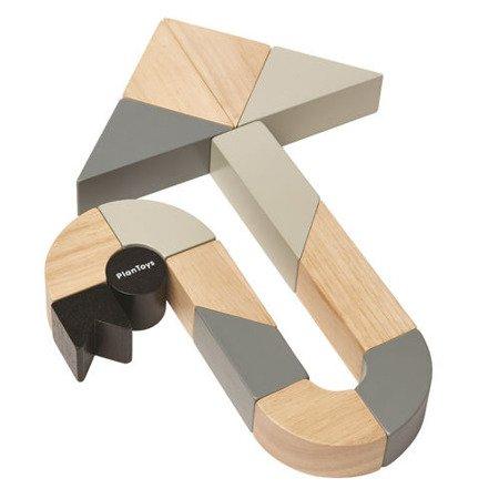 Drewniane klocki zakręcone   Plan Toys®