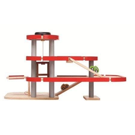 Drewniany piętrowy parking - garaż, Plan Toys®