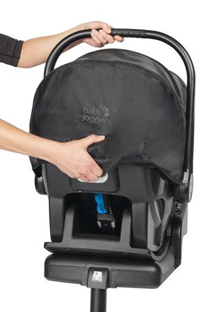 Fotelik Samochodowy CITY GO I-SIZE BLACK Baby Jogger