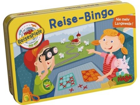 Gra - Podróżne Bingo (5+)