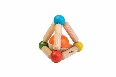Grzechotka trójkąt manipulacyjny   Plan Toys®