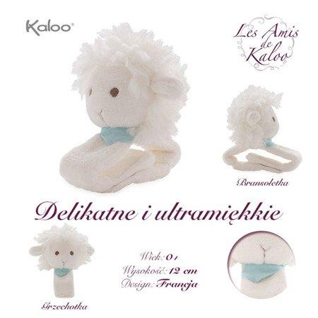 Kaloo Owieczka Waniliowa grzechotka na rączkę kolekcja Les Amis