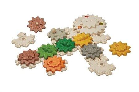 Koła zębate, 22 elementy, Plan Toys