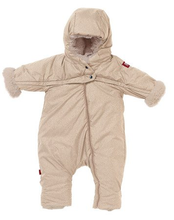 Kombinezon zimowy Combi T-ZIP 6-12m Heather Beige, Red Castle