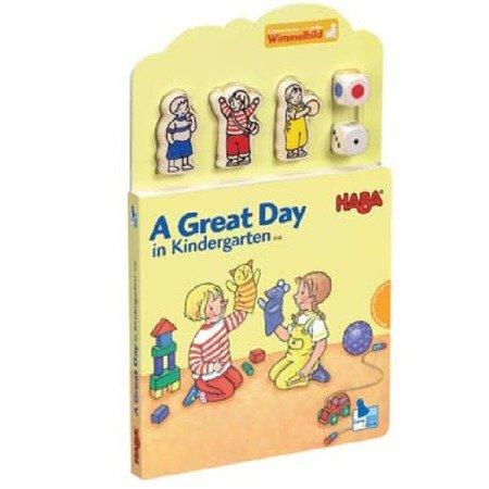 Książeczka Wspaniały dzień w przedsz ANG
