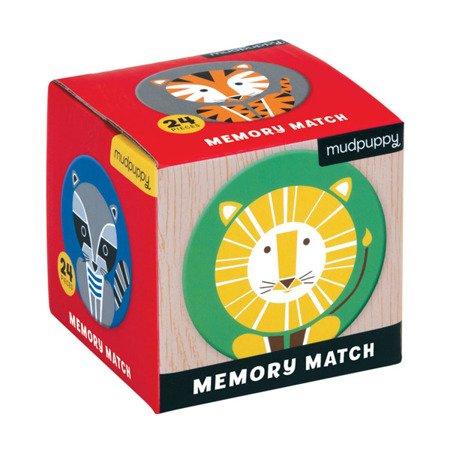 Mudpuppy Gra Mini Memory Geometryczne Zwierzęta