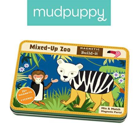 Mudpuppy Magnetyczne konstrukcje ZOO 6+