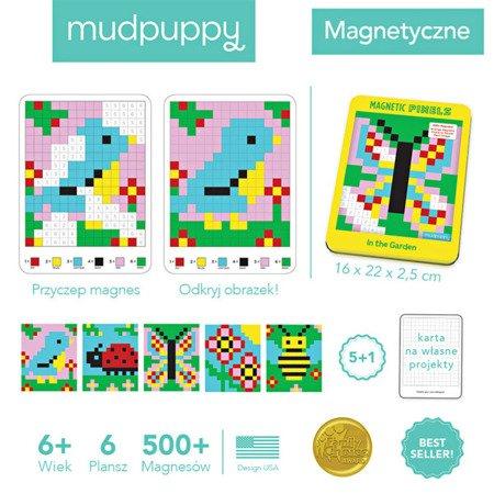 Mudpuppy Magnetyczne piksele Ogród 6+