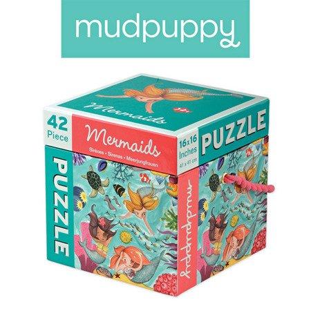 Mudpuppy Puzzle Syreny 42 elementy 3+