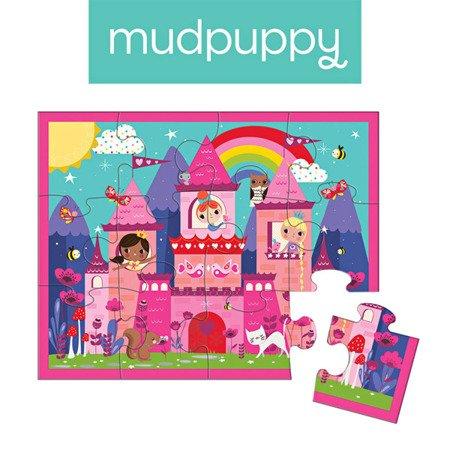 Mudpuppy Puzzle w saszetce Zamek księżniczki 12 elementów 2+