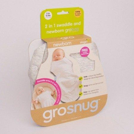 Otulacz-śpiworek Grosnug Grey Marl, Gro Company