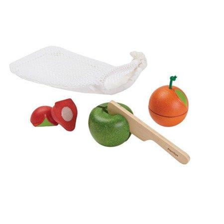 Owoce do krojenia, 3 el., Plan Toys