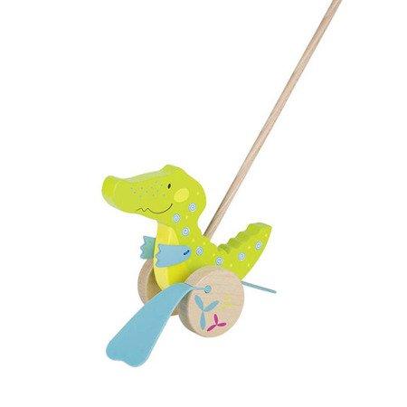 Pchacz Krokodyl Susibelle - zabawka do pchania