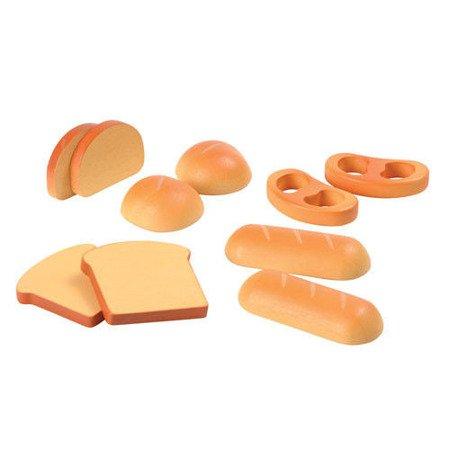 Pieczywo - zestaw zabawek drewnianych, Plan Toys PLTO-3452