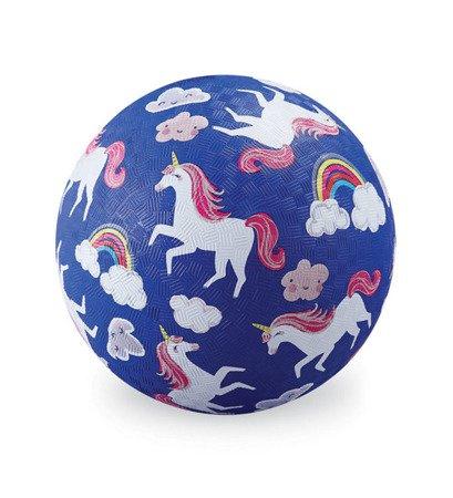 Piłka 18 cm, wzór jednorożce