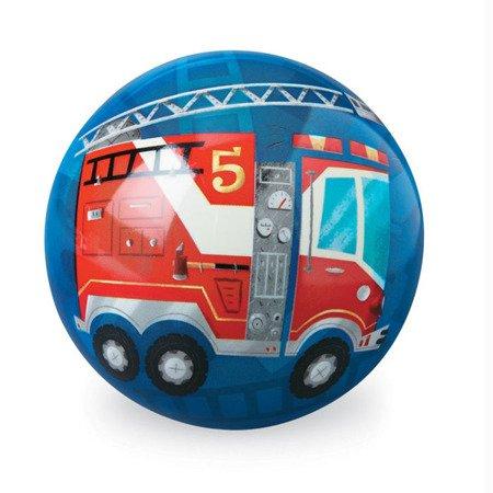"""Piłka 4"""", 10 cm, motyw straż pożarna, CC"""