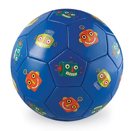 Piłka futbolowa,14 cm ,Roboty, Crocodille Creek