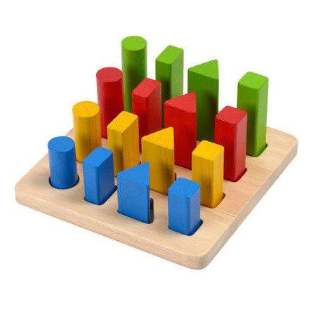 Plansza drewniana do sortowania, Plan Toys®