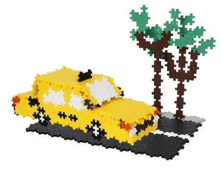 Plus-Plus, Mini Basic - 760 szt. - Żółta taksówka