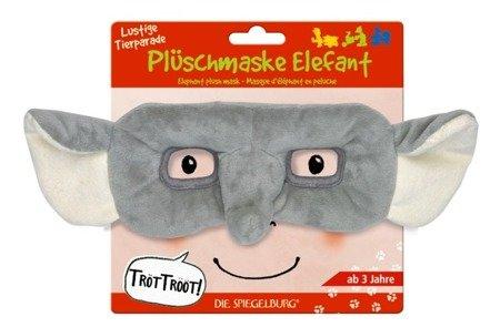 Pluszowa Maska Słonik Parada Zwierząt