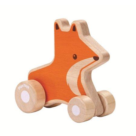 Pojazd do zabawy, Lisek na kółkach | Plan Toys®