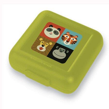 Pudełko na kanapki, motyw dzikie zwierzęta, CC