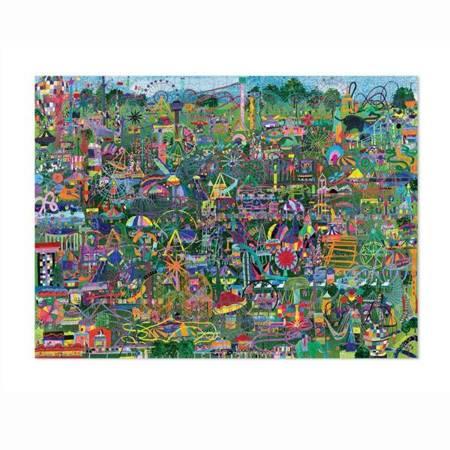Puzzle 1000 elem. Rozrywki świata