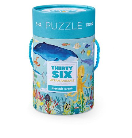 Puzzle 100el., motyw morskie zwierzęta, CC