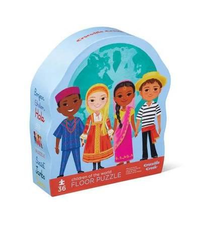Puzzle 36 el. motyw Dzieci Świata