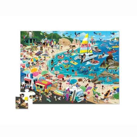 Puzzle 48 el. Dzień na plaży