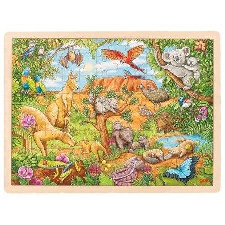 Puzzle 96 el. Australijskie zwierzęta