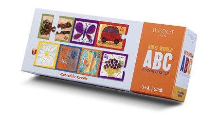 Puzzle ABC wzdłuż pokoju 3,35 m