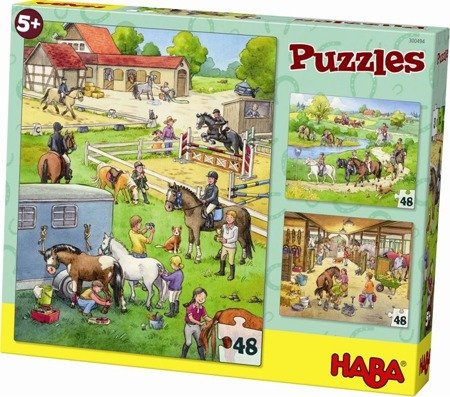 Puzzle Stadnina Koni