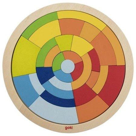 Puzzle mozaika koło