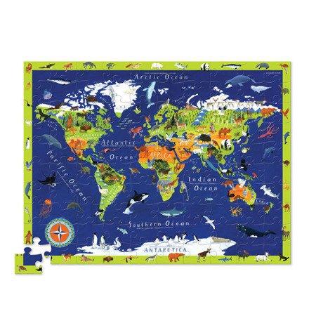 Puzzle odkrywcy - Świat, Crocodile Creek 2920-1