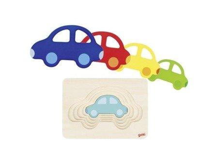 Puzzle warstwowe samochodzik, GOKI-57485