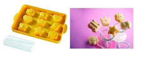 Silikonowa foremka do pieczenia ciastek