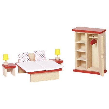 Sypialnia do domku dla lalek, GOKI-51715