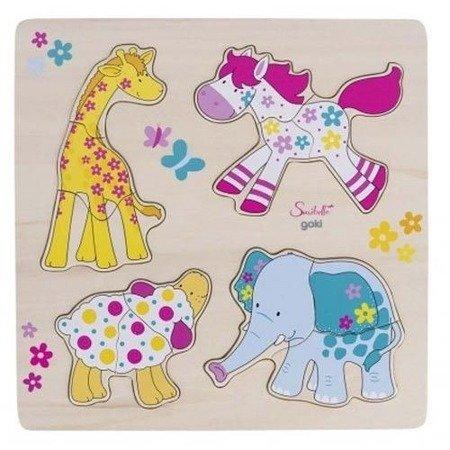 Układanka puzzle,wzór Zwierzątka, Susibelle57510