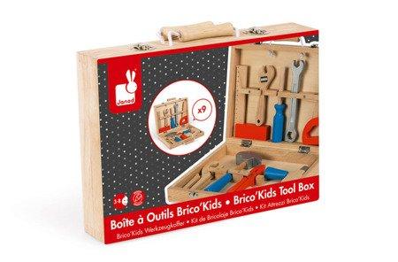 Walizka z narzędziami Brico 'Kids kolekcja 2018, Janod