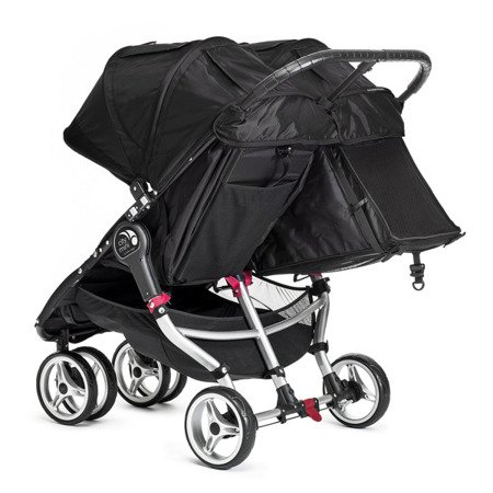 Wózek CITY MINI DOUBLE BLACK/GRAY 12410 Baby Jogger