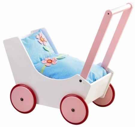 Wózek dla lalek - Kwiatki